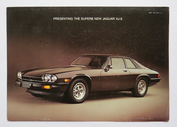1976 Jaguar XJS Brochure