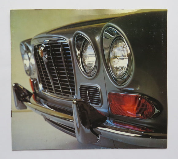 1971 Jaguar XJ6 Brochure