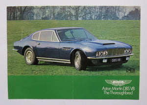 c. 1970 Aston Martin DBS V8 Thoroughbred Brochure