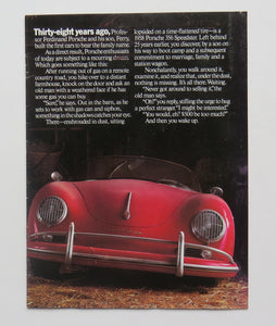 1986 Porsche Brochure 911 Turbo 944 928 959