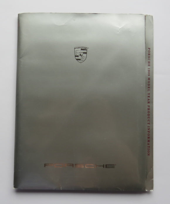 1989 Porsche Product Information Brochure Folder 928 S4 911 Turbo 944