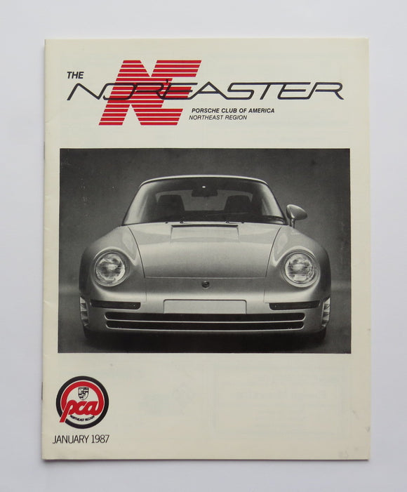 1987 Porsche Brochure Nor'easter Racing