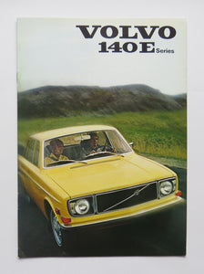 1971 Volvo 140E Series Brochure