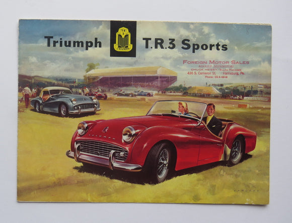 1957 Triumph TR3 Sports Brochure