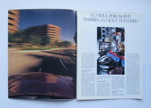 1989 Mercedes Benz Full Line Brochure