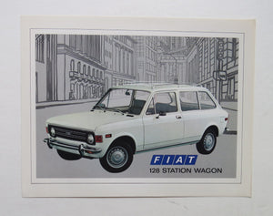 1973 Fiat 128 Station Wagon Brochure