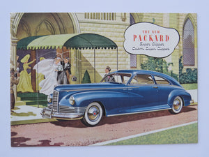 1940 Packard Super Clipper and Custom Brochure with Envelope