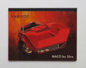 1969 Chevrolet Corvette X-Alvis MACO Shark by John Silva Brochure