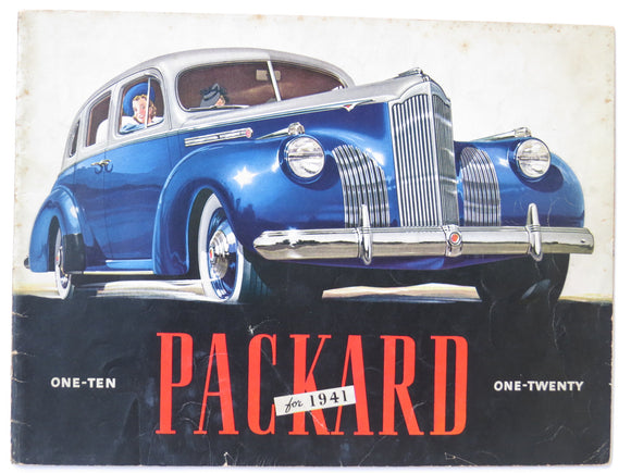 1941 Packard One-Ten and One-Twenty Brochure