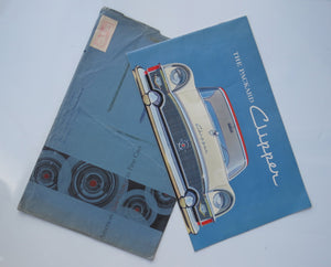 1955 Packard Clipper Prestige Brochure with Envelope