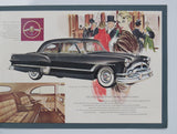 1953 Packard Prestige Brochure Patrician Cavalier Mayfair Convertible