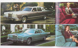 1979 Lincoln Continental Mark V Versailles Prestige Brochure