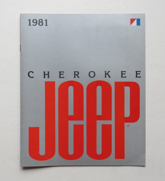 1981 Jeep Cherokee Brochure