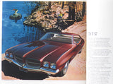 1971 Pontiac Full Line Brochure LeMans Grand Prix Catalina Tempest GTO T-37