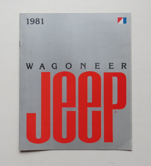 1981 Jeep Wagoneer Brochure