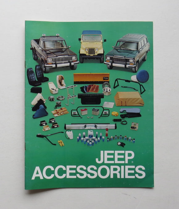 c. 1980 Jeep Accessories Brochure
