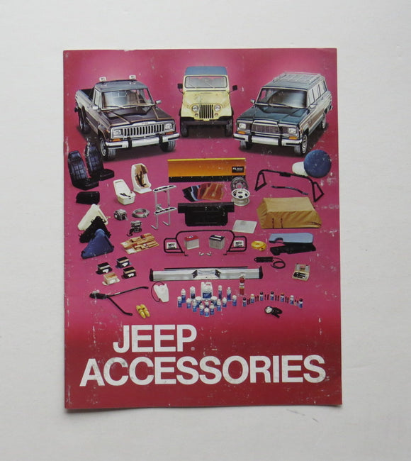 1980 Jeep Accessories Brochure
