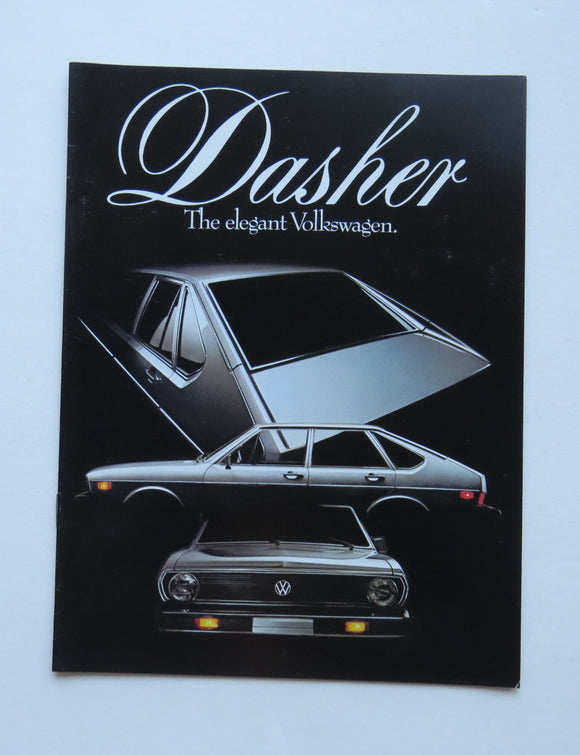 1977 Volkswagen Dasher Brochure Hatchback