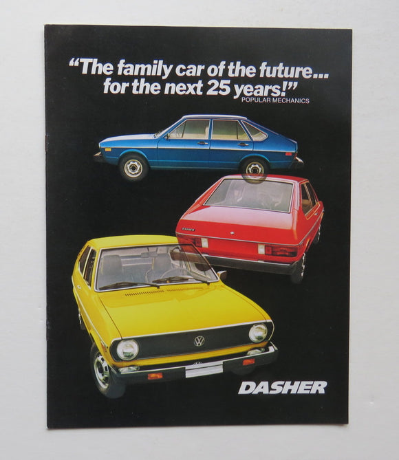 1975 Volkswagen Dasher Brochure