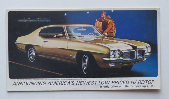 1973 Pontiac Grand Ville Brochure