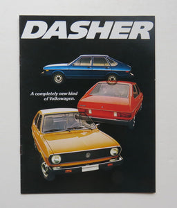 1974 Volkswagen Dasher Brochure