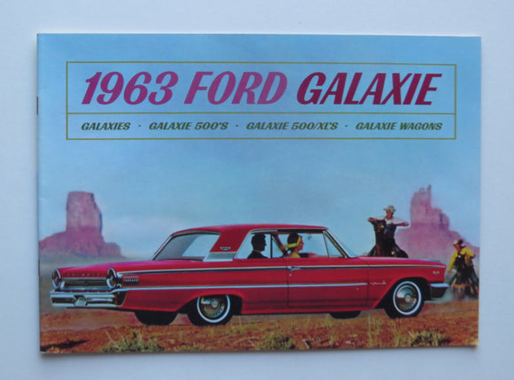 1963 Ford Galaxie Brochure