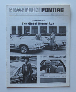 1976 Pontiac News Special Edition Global Record Run
