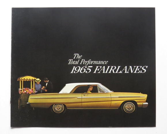1965 Ford Fairlane 500 Brochure