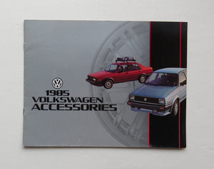 1985 Volkswagen Accessories Brochure
