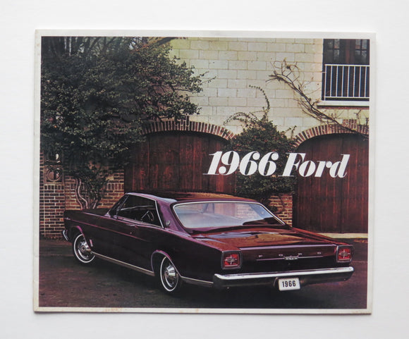 1966 Ford Full Size Brochure LTD Galaxie 500 Country Ranch XL