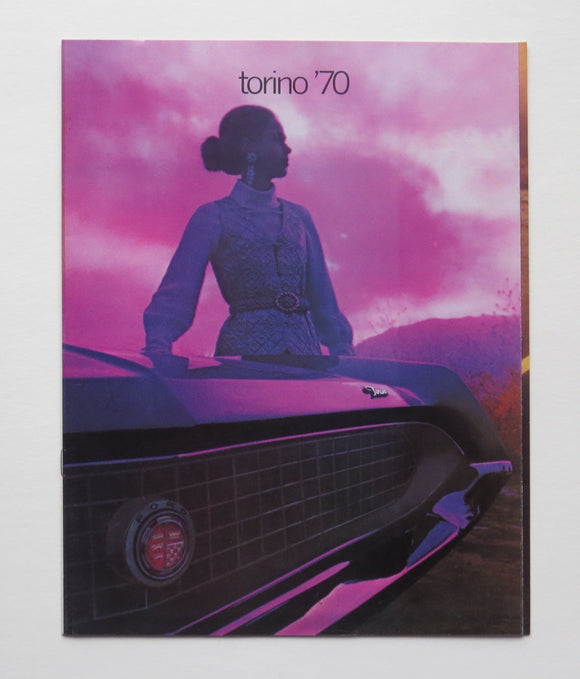 1970 Ford Torino Brochure Cobra GT Fairlane 500