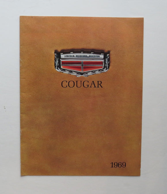 1969 Mercury Cougar Brochure XR-7 CJ 428