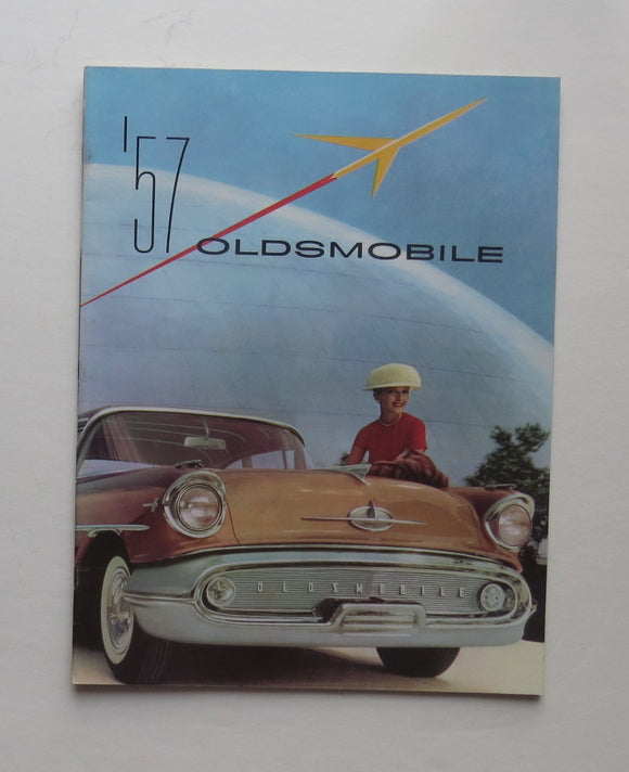 1957 Oldsmobile Brochure Starfire 98 Super 88