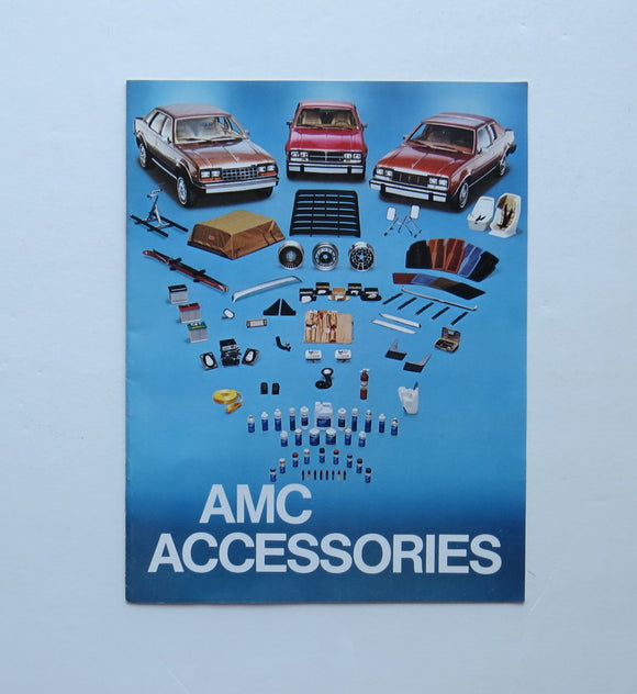 1980 AMC Accessories Brochure