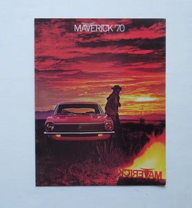 1970 Ford Maverick Brochure Options Accessories