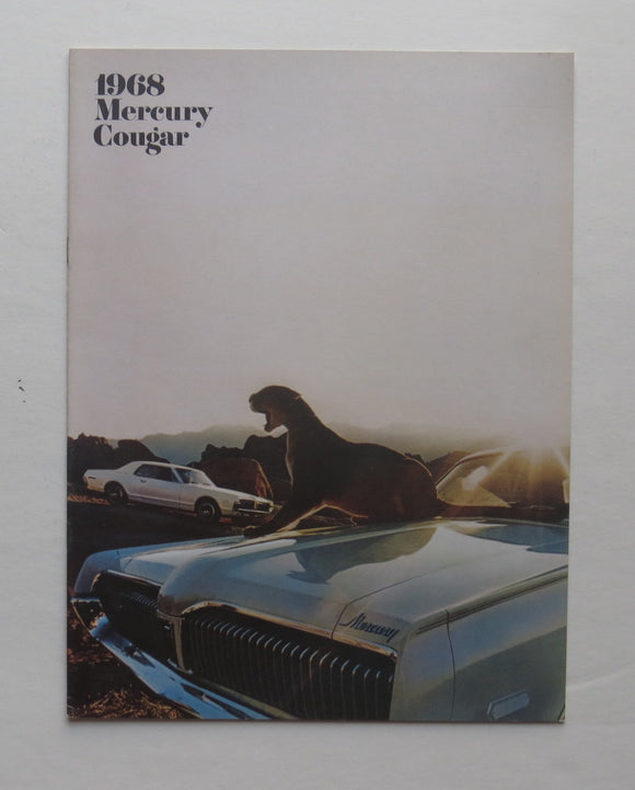 1968 Mercury Cougar Brochure XR-7 GT-E