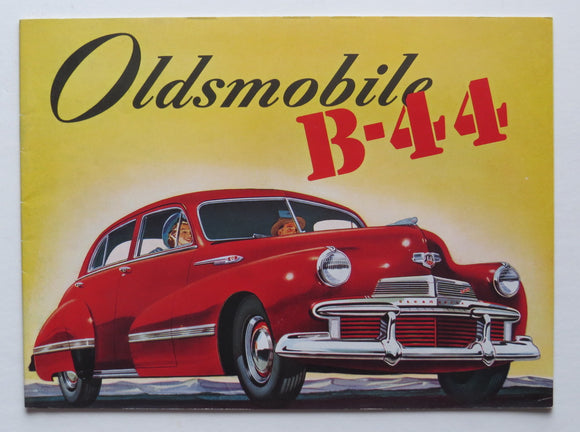 Oldsmobile Brochure Series 66 68 76 78 98 Custom 8