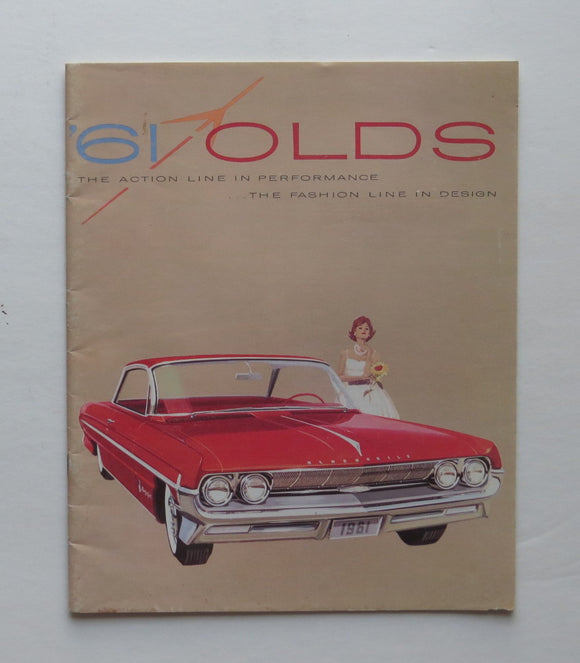 1961 Oldsmobile Brochure 98 88 F-85