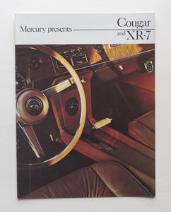 1966 Mercury Brochure Cougar XR-7