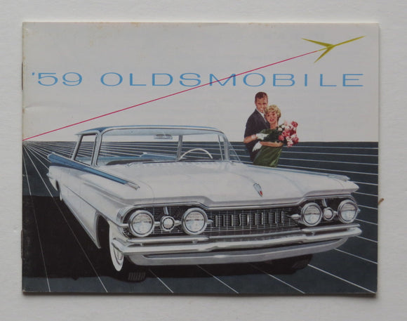 1959 Oldsmobile Full Line Brochure 98 88