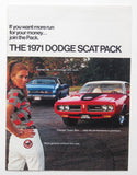 1971 Dodge Brochure Demon Charger