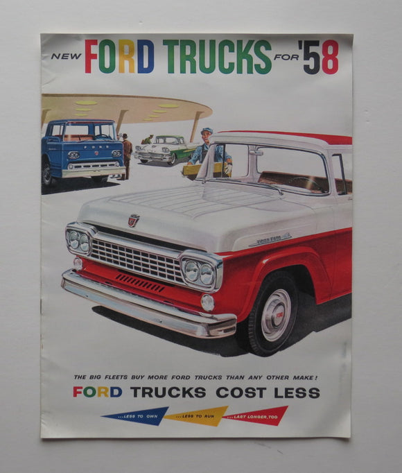 1958 Ford Brochure Trucks