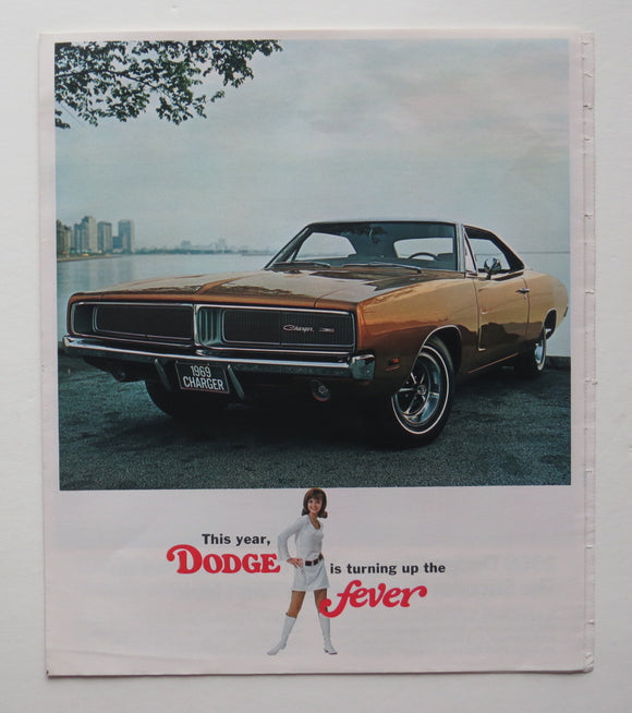1969 Dodge Brochure Charger