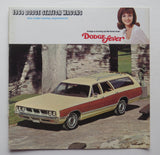1969 Dodge Brochure Station Wagon