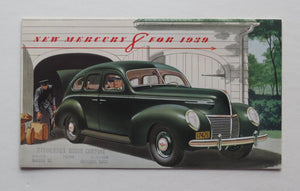 1939 Ford Brochure Mercury 8