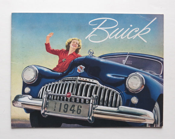 1946 Buick Brochure 40 50 70 Series