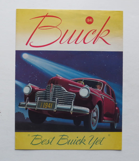 1941 Buick Brochure 40 50 60 70 90 Series