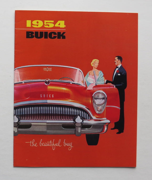 1954 Buick Brochure 50 60 70 100 series