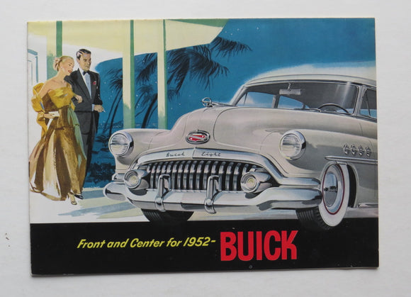 1952 Buick Brochure 40 50 70 Series