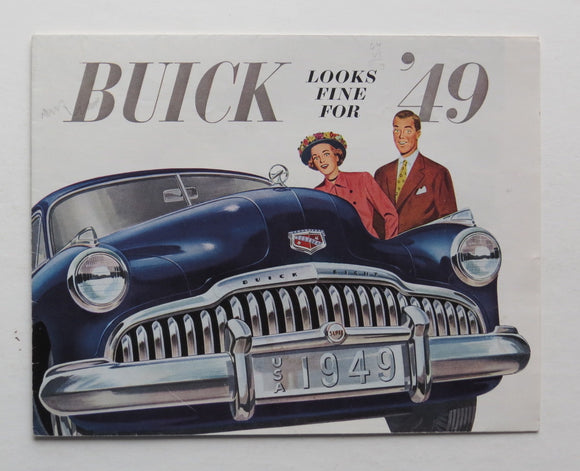 1949 Buick Brochure 50 70 Series
